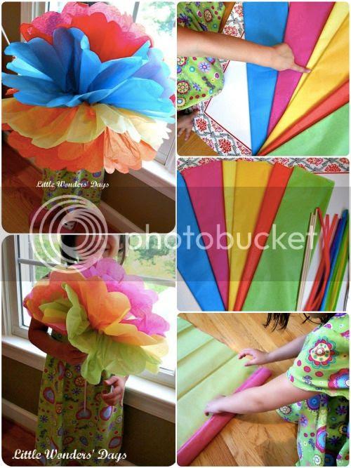 cinco de mayo activities for kids, how to make paper flowers