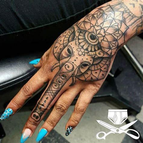 goddess leach hand tattoos women hand tattoos