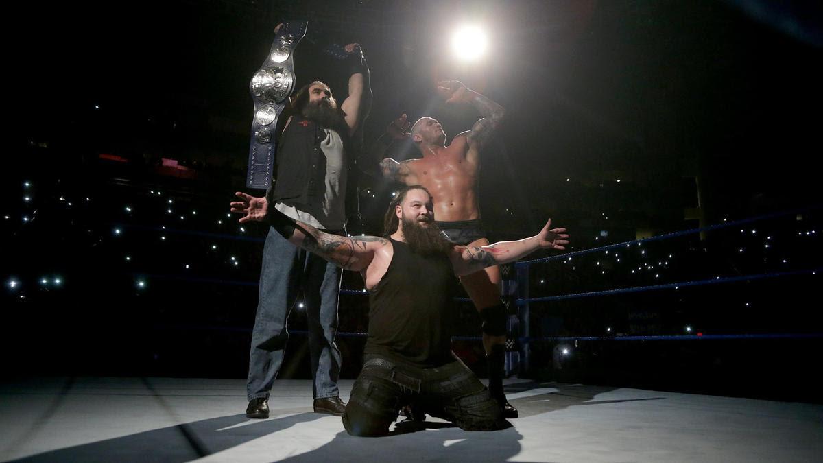 Orton & Wyatt retain the SmackDown Tag Team Championship.