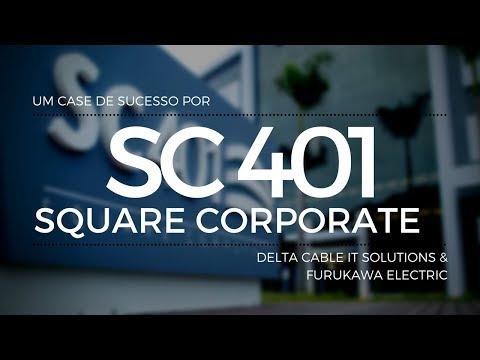 Em projeto inovador, CFL constrói o SC401 Square Corporate - o maior e mais inteligente centro empresarial do sul do Brasil com distribuição Delta Cable