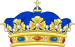 Crown of a Napoleonic Prince Souverain.svg