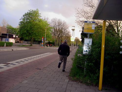 running from camera (2 seconds)