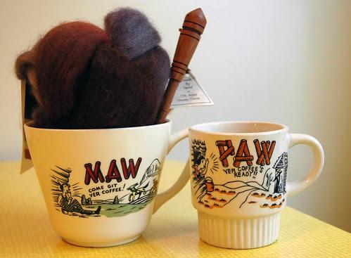 maw and paw mugs