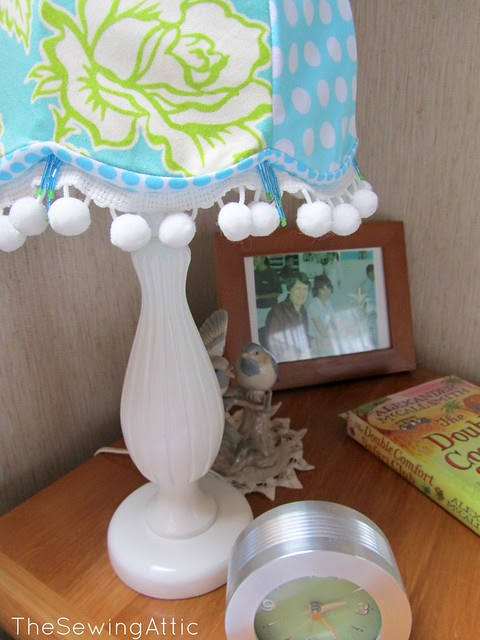 Bedside lamp makeover