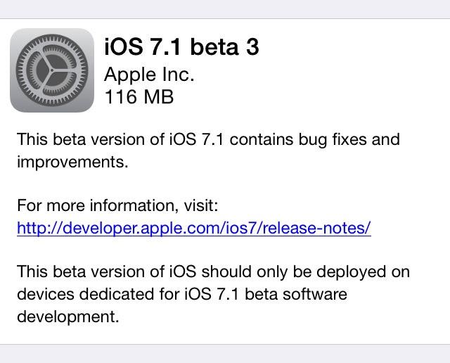 Evasi0n iOS 7 Jailbreak Not Patched in iOS 7.1 Beta 3
