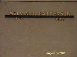 Melvin Davis Patterson