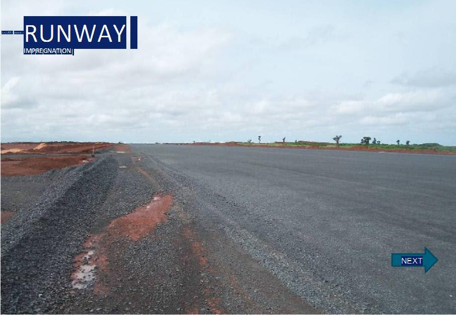 Construction of Dakar  Airport