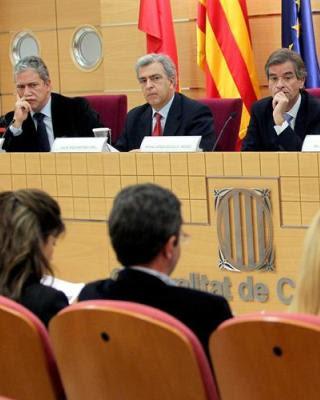 Los jueces decanos de Valencia, Malaga y Bilbao/EFE