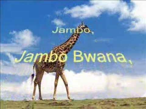 tano tafadhali: Jambo bwana