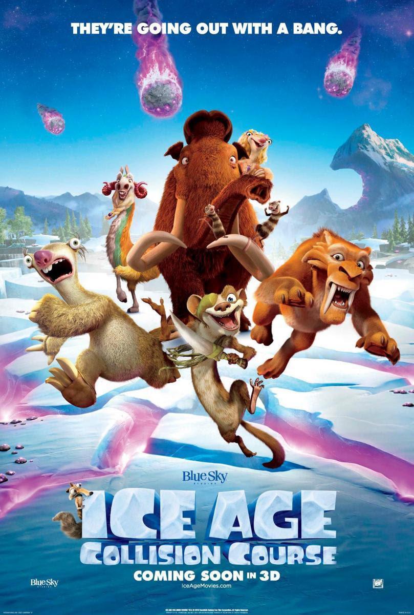 cine, película, La edad de Hielo: El gran Cataclismo 5, Ice Age: Collision Course, película 3d, 3d, dibujos, animación, aventuras, comedia, prehistoria, secuela, blog de cine, solo yo, blog solo yo, blogger alicante,