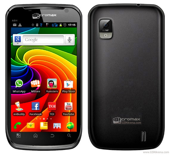 Micromax A84 Android Touch Screen SmartPhone 5MP wi-fi Images/Pictures
