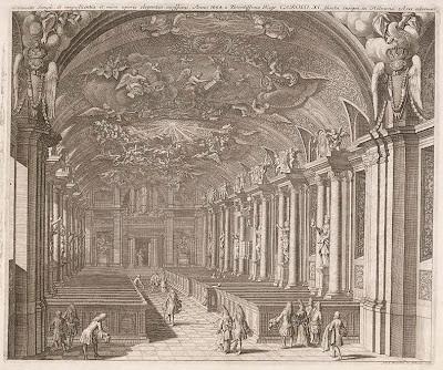 Swedish church interior from 1694