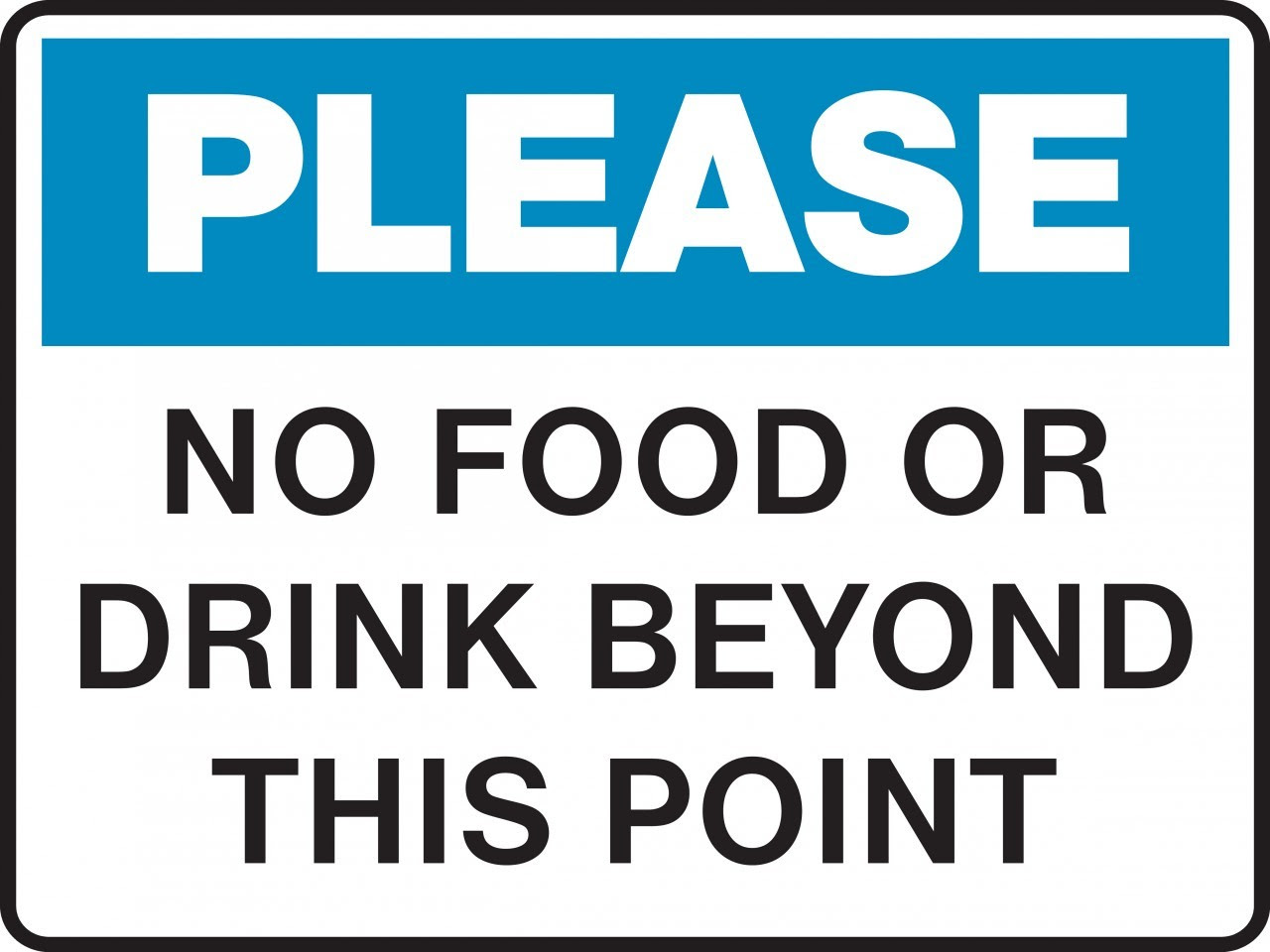 No Outside Food Or Drinks Sign - ClipArt Best