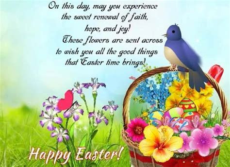 Easter Flowers Cards, Free Easter Flowers Wishes, Greeting
