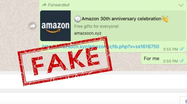 No. Amazon is not offering free gifts to all; that WhatsApp message is fake