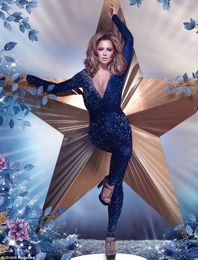 """""""Eu me sinto mais sexy do que nunca"""": Cheryl Cole mostra suas curvas depois de ganhar £ 7 e começá-la """"peitos e costas bum '"""