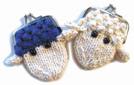 Sheepy Coin Purse Knit Kit