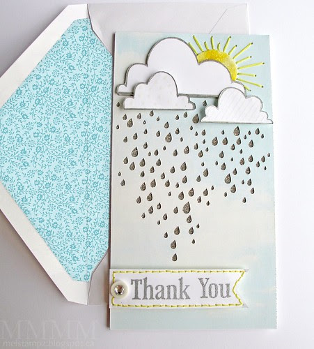 silver lining - rainy sky cut file