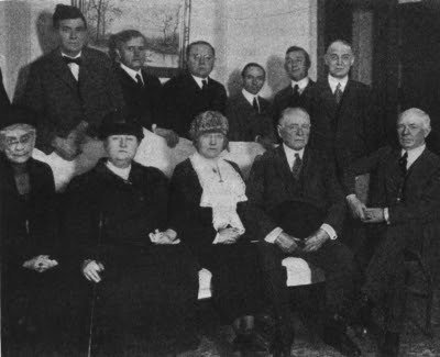 Conference of Men and Women Delegates at a National Convention in 1920