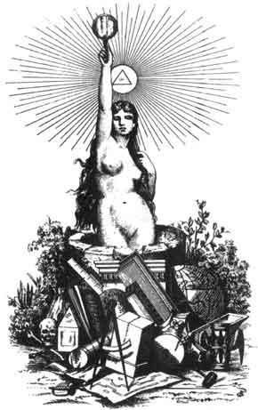 alegoría de la masonería