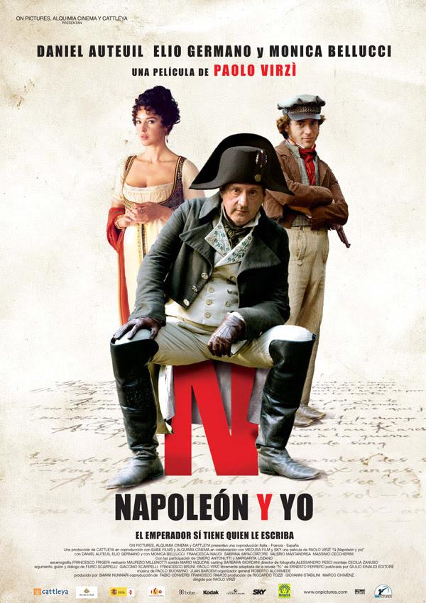 Napoleón y Yo (Paolo Virzì, 2.006)