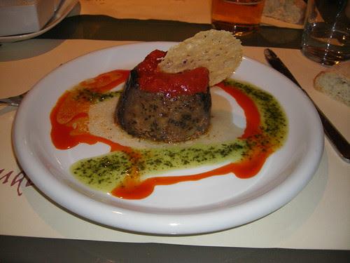 Tartaleta d'albergínia
