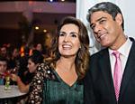 O casal em festa da Globo em 2013
