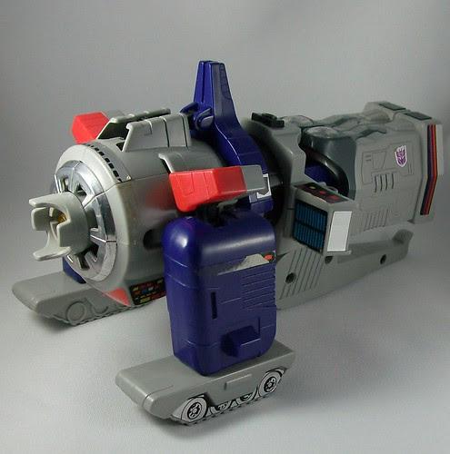 Transformers Galvatron (G1) - modo alterno