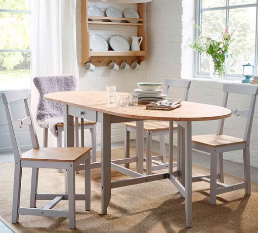 Dormitorio Muebles modernos: Mesas plegables cocina ikea