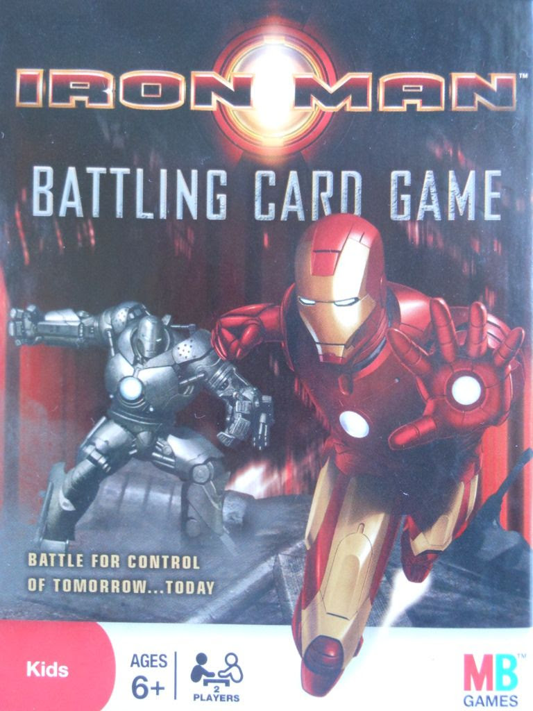 Iron Man Battling Card Game box