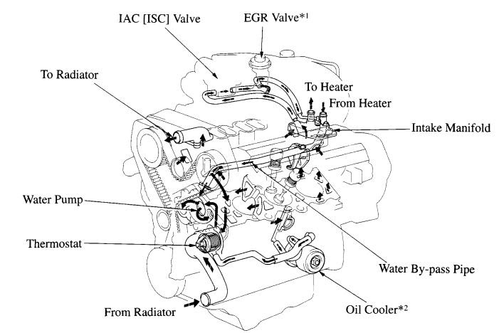 1996 4RUNNER Limited Radiator hose - Toyota 4Runner Forum ...