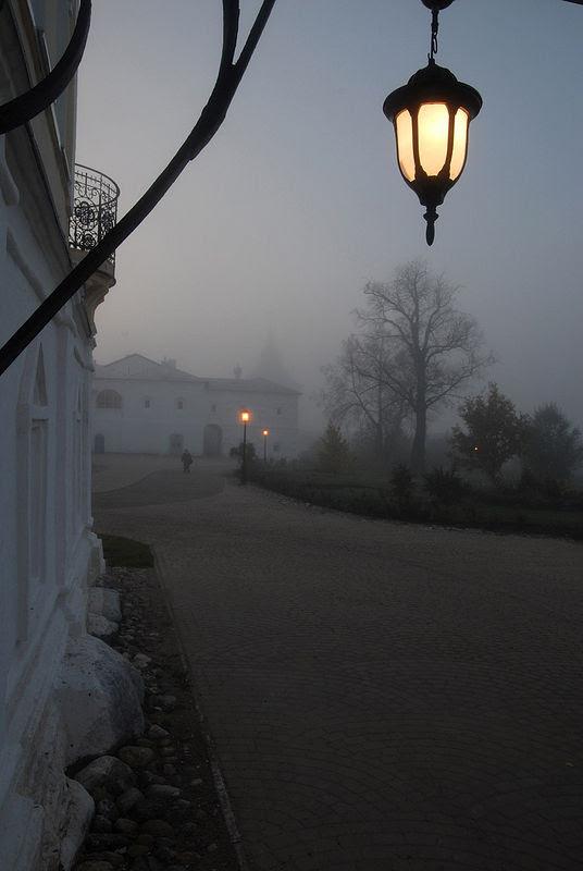 Утро в монастыре. Фото: архиепископ Вологодский и Великоустюжский Максимилиан