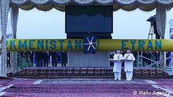 Turkmenistans Gasexport nach Iran (Mehr Agency)