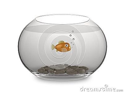 goldfish cartoon image. CARTOON GOLDFISH