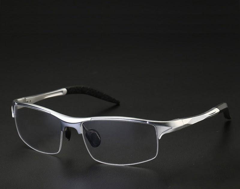 4a4308b2b6 Comprar Montura De Gafas ópticas 8177 Para Hombres Prescripción Media  Llanta Hombre Aleación Online Baratos ~ pr0mise-m3