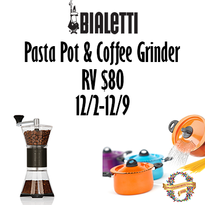 Bialetti Holiday 2017 Giveaway