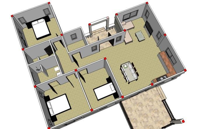 Phen 3 Bedroom House No 1 Nkd