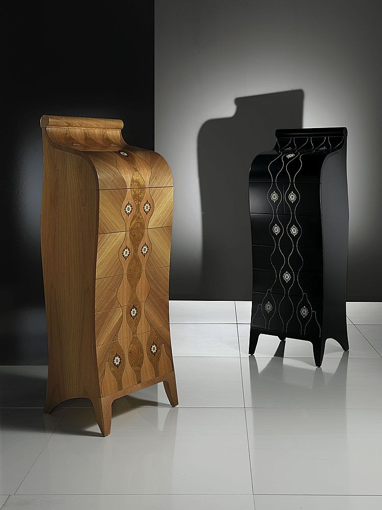 Wood Chest of Drawers for Elegant Bedroom Design from Carpanelli ...