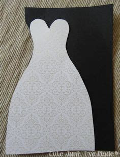 Bride Dress Template   Sassybee Stamps: Tuxedo and Dress