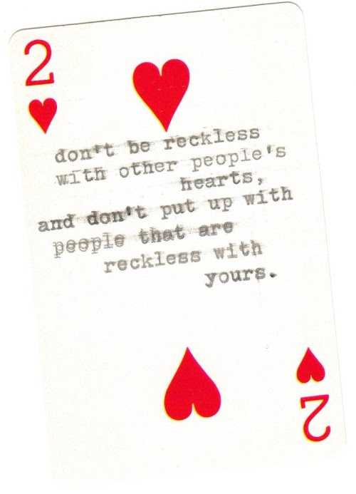 Red Mine Quote Quotes White Heart Kurt Vonnegut Cards Hearts Card