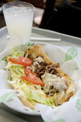 Philly Cheesesteak, Charley's Grilled Subs, Westfield San Francisco Centre