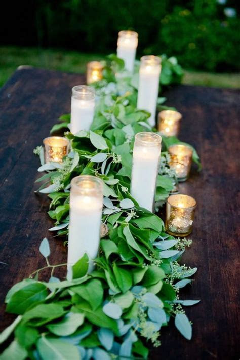 40 Chic Romantic Wedding Ideas Using Candles   Deer Pearl
