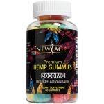 New Age Naturals Advanced Hemp Big Gummies 3000mg 60ct – 100% Natural Hemp Oil Infused Gummies