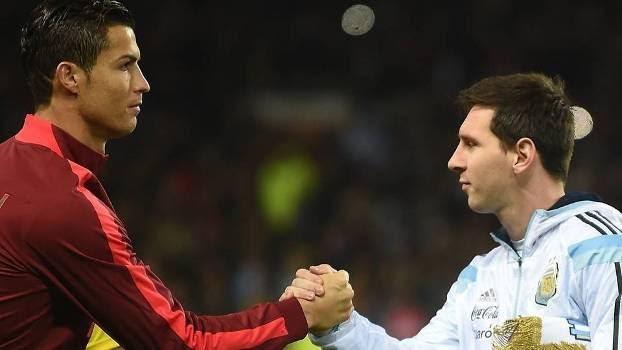 Cristiano Ronaldo e Lionel Messi são os atletas mais bem pagos do ano