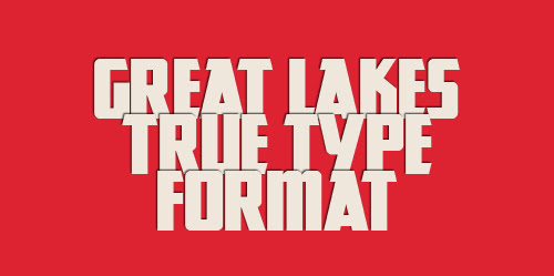great lakes font