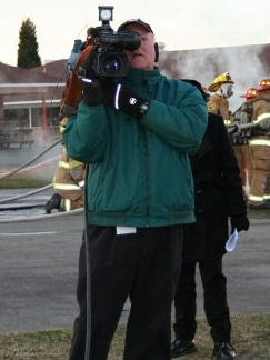 Welch at Fire Expo