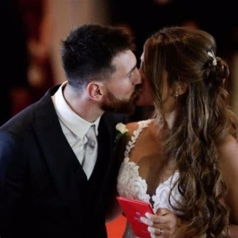 PHOTOS: Footballer Leo Messi Married His Childhood Love