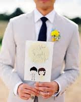 11 Wedding Program Fans to Keep Guests Cool   Martha