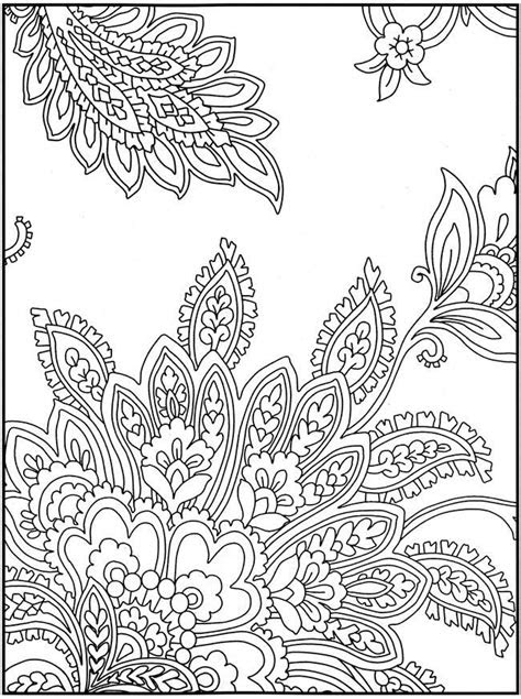 Flower Coloring Page Printables