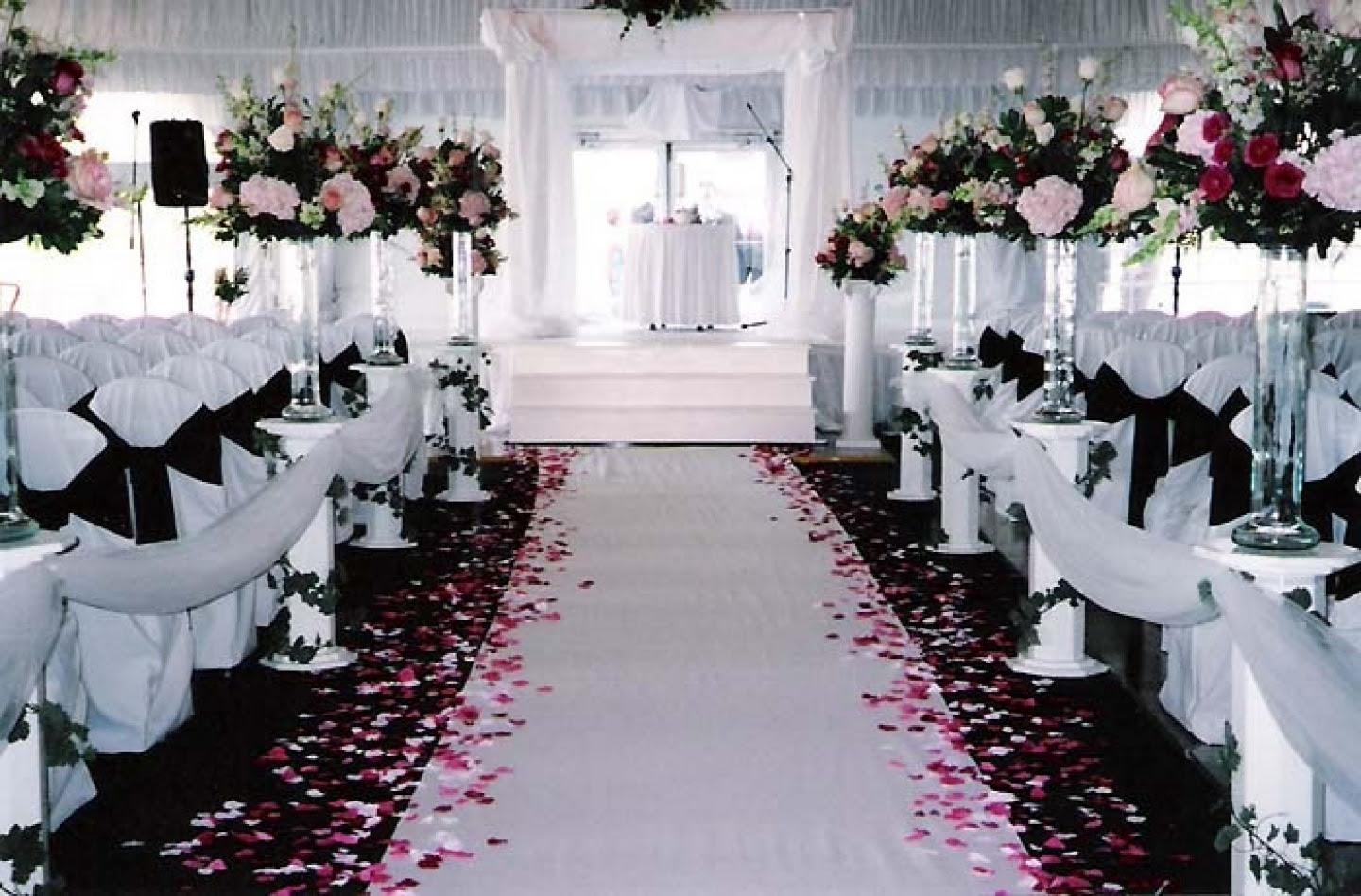 Wedding Ideas Pink And Black Pink And Black Wedding Theme